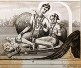 "Iconographic by Heck -1851- ""MISC. ORIENTAL IMAGES"" - Antique Print"