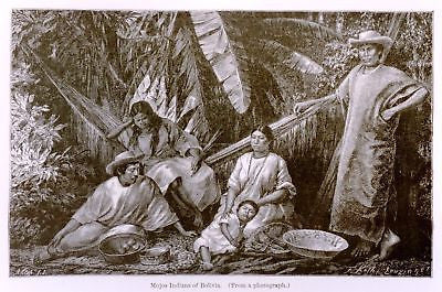 Antique Ethnology Print