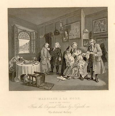 """DEATH OF THE COUNTESS"" by William Hogarth -1861"