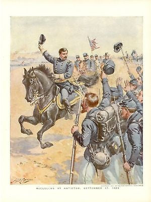 Antique Military Print