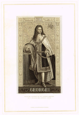 "Archer's Royal Portraits - ""WILLIAM III"" - Tinted Lithograph - 1880"