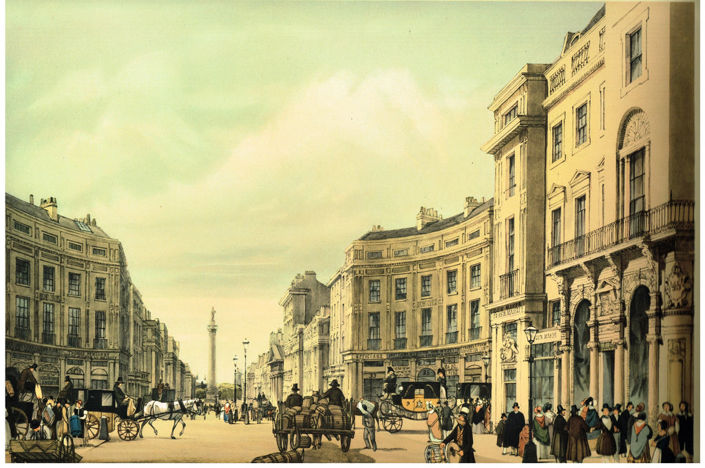 REGENT STREET LOOKING TOWARD THE DUKE OF YORK COLUMN