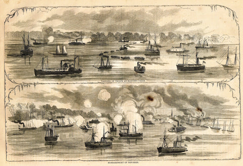 BOMBARDMENT OF NEWBERN