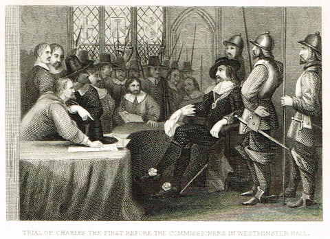 TRIAL OF CHARLES 1st IN WESTMINSTER HALL