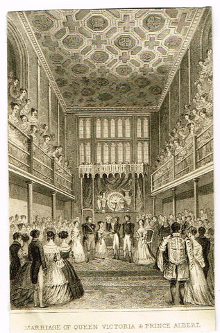 MARRIAGE OF QUEEN VICTORIA