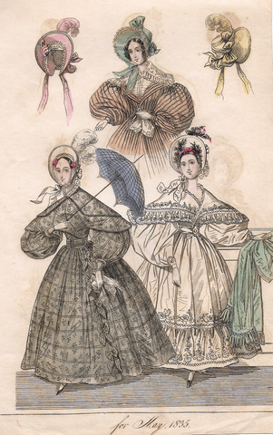 FASHIONS FOR MAY, 1835