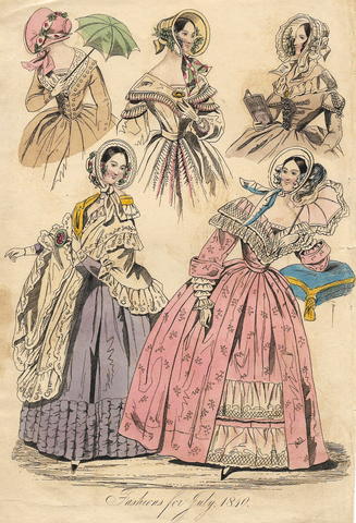 FASHIONS FOR JULY, 1810