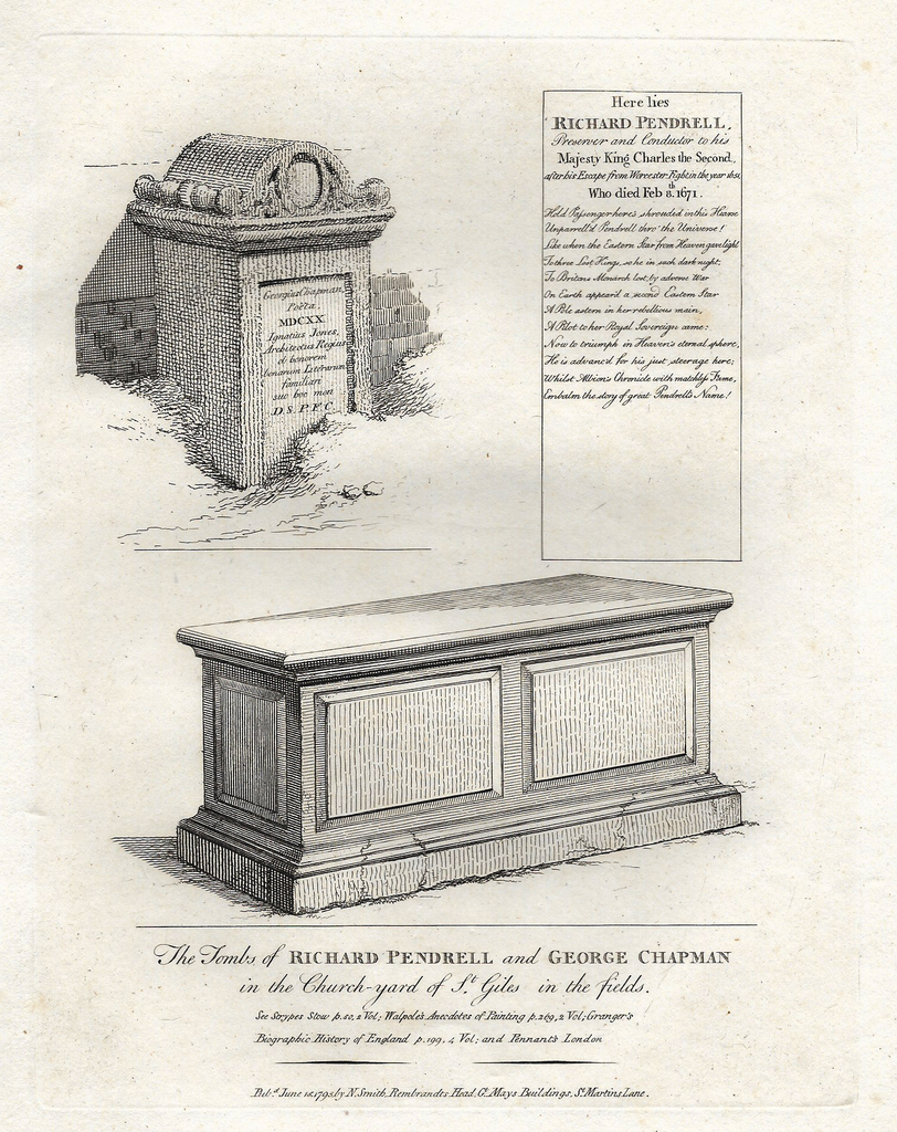 TOMBS OF RICHARD PENDRELL & GEORGE CHAPMAN