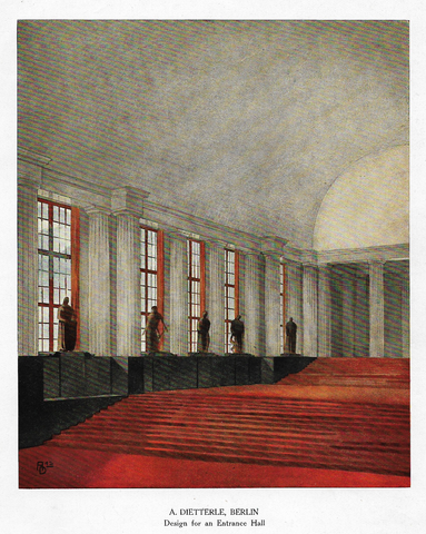 BERLIN - DESIGN FOR AN ENTRANCE HALL