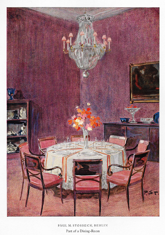 BERLIN - PART OF A DINING ROOM