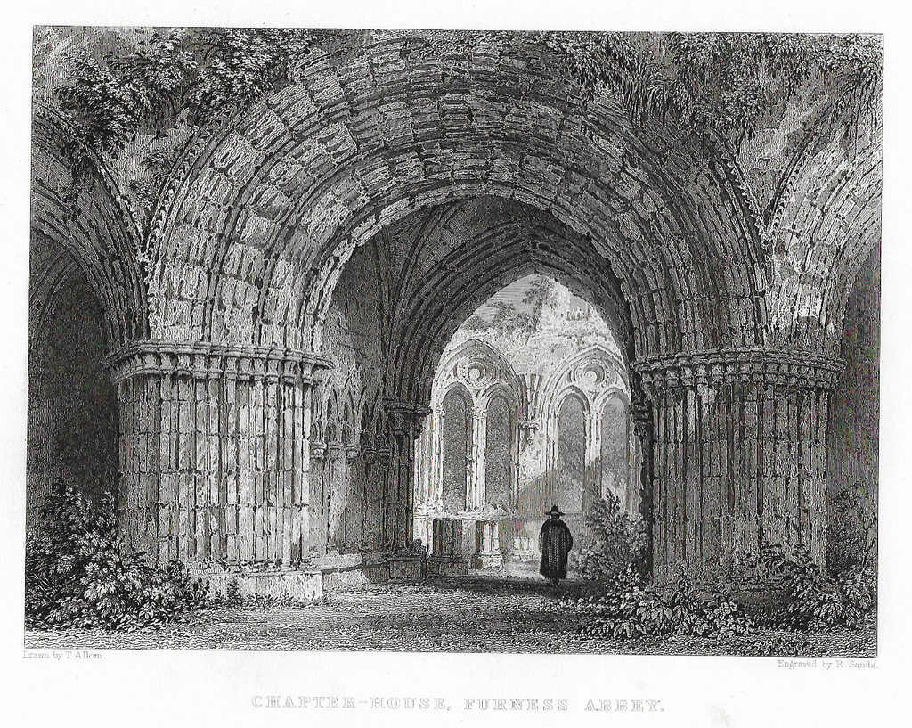 """CHAPTER HOUSE FURNESS ABBEY"