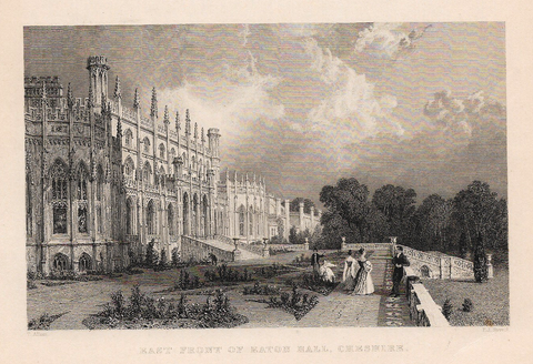 EAST FRONT OF EATON HALL, CHESHIRE