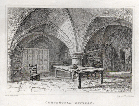 CONVENTUAL KITCHEN