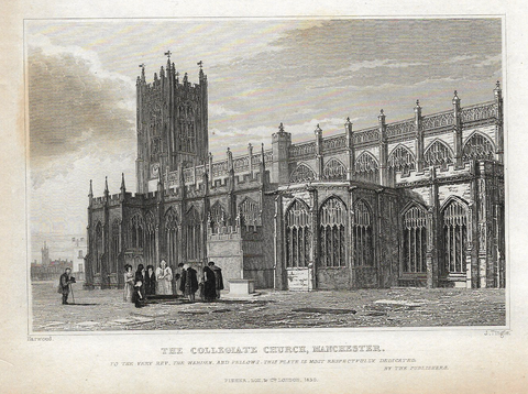 COLLEGIATE CHURCH, MANCHESTER