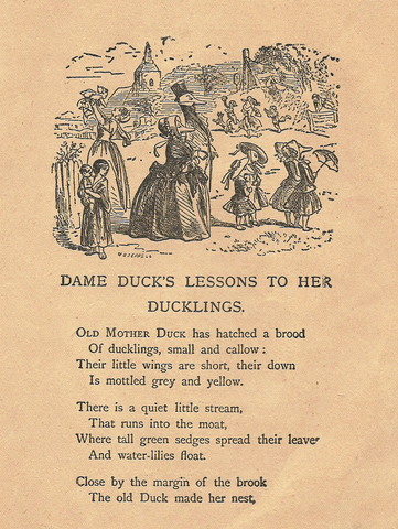 DAME DUCK'S LESSONS
