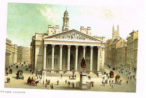 "Nelson's ""THE ROYAL EXCHANGE"" - Miniature Chromolithograph - 1889"