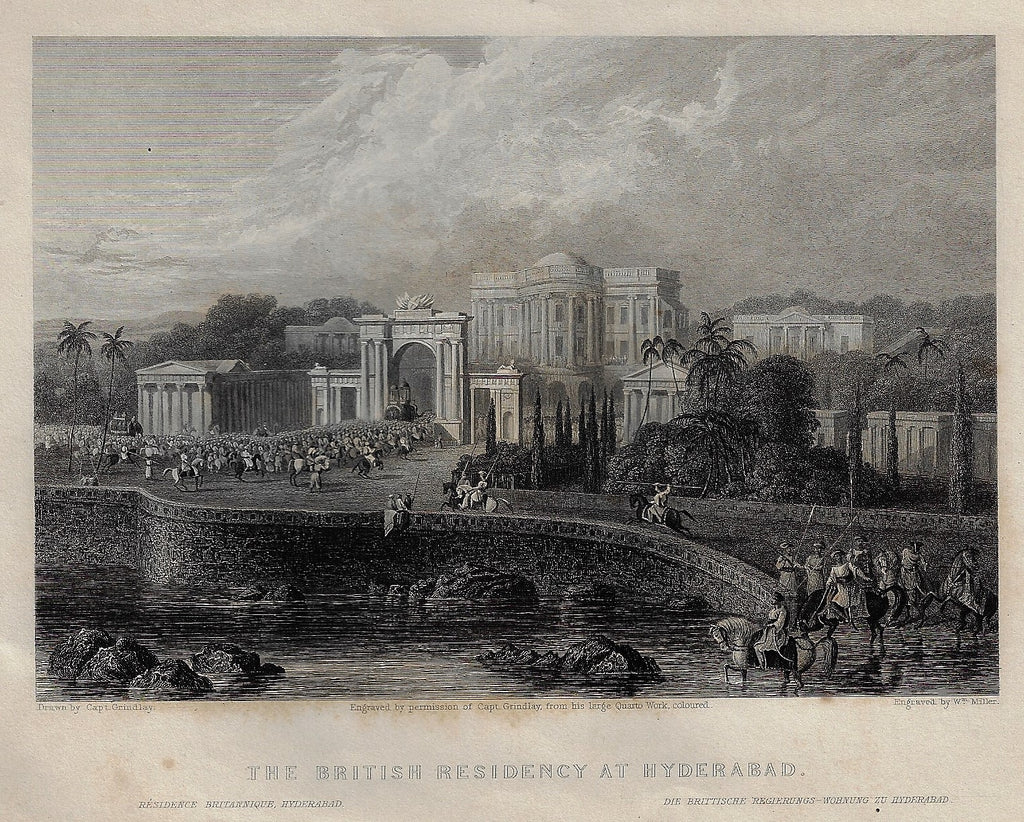 BRITISH RESIDENCY AT HYDERABAD