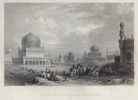 """TOMBS OF THE KINGS OF GOLCONDA"""