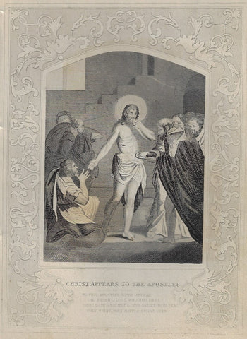 CHRIST APPEARS TO APOSTLES
