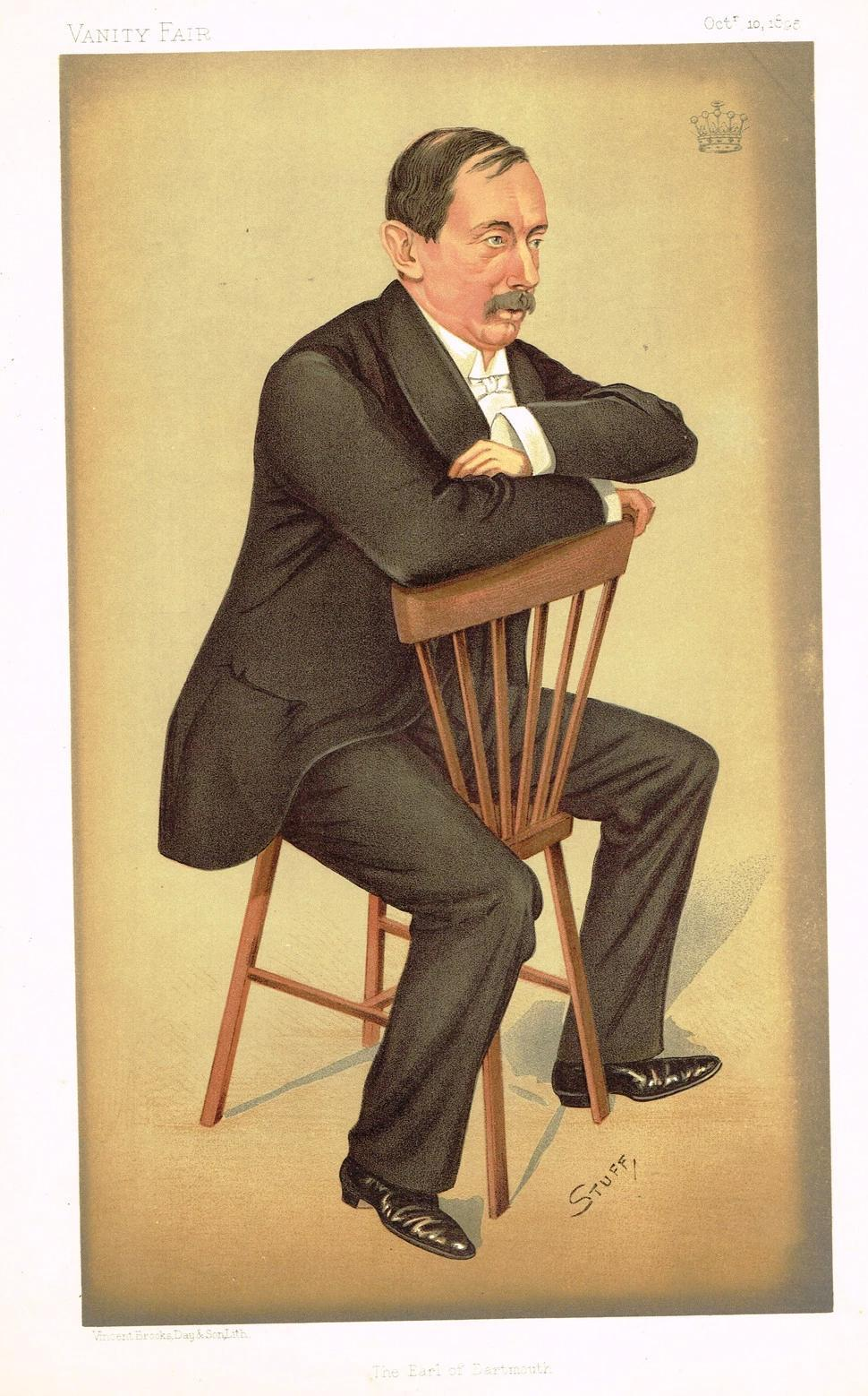 Vanity Fair Caricature