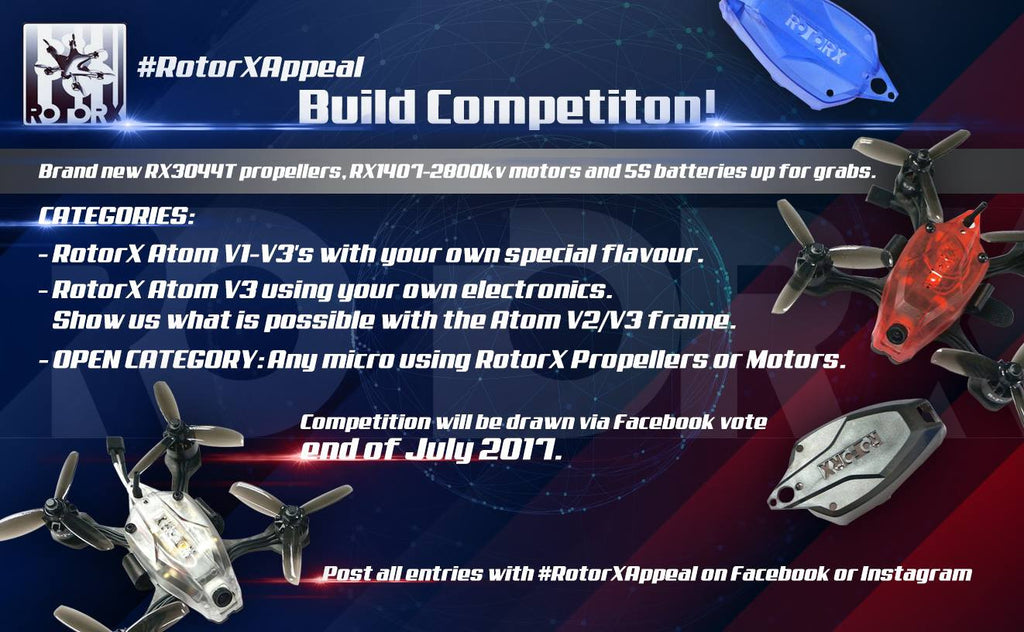 #RotorXAppeal Build Competition