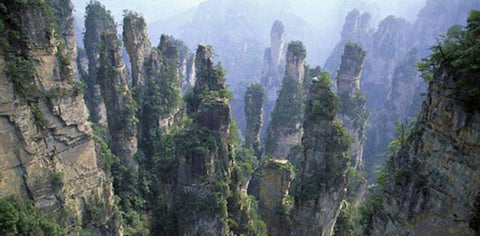 Avatar Mountains in China