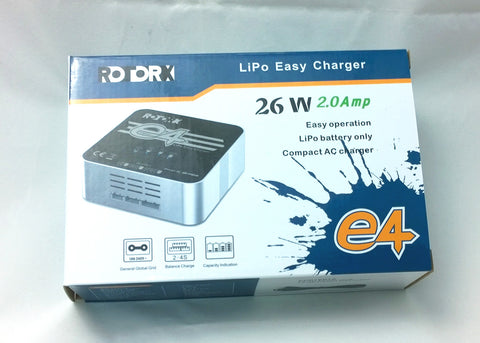 RotorX 2A Battery Charger