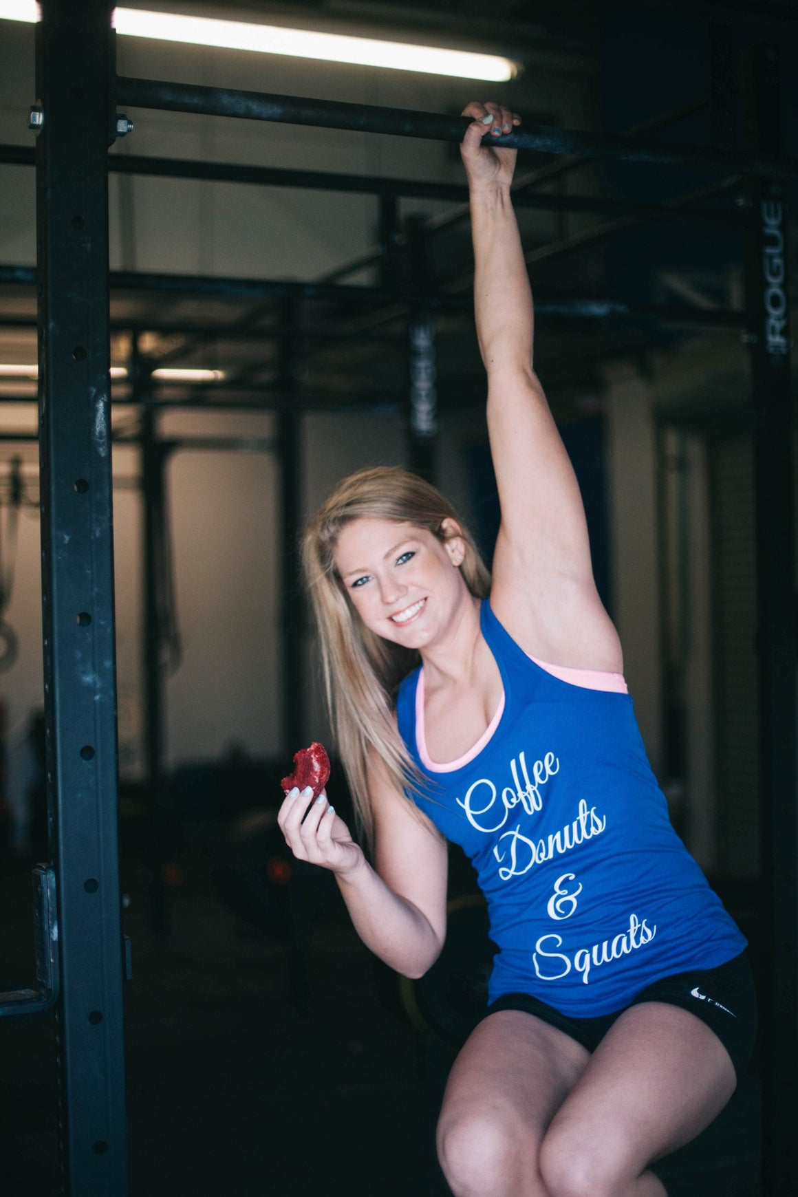 Coffee, Donuts, & Squats- Royal Blue - FitGirls_inspire - 4