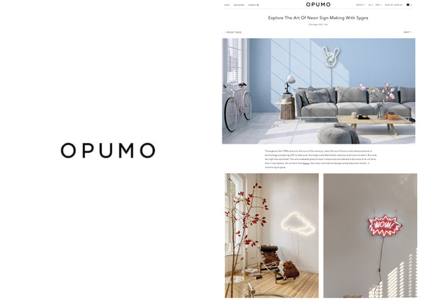 "Lilly Ingenhoven x Sygns Mentioned on ""Opumo"""