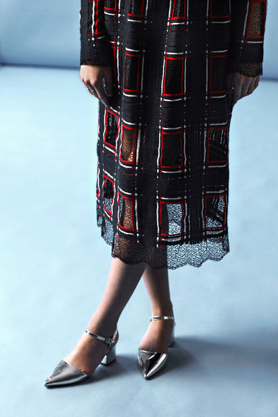 "Mid length lace skirt ""Elisa"""
