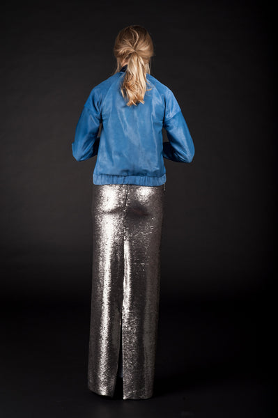 "Sequined Pencil Skirt ""Clea"""