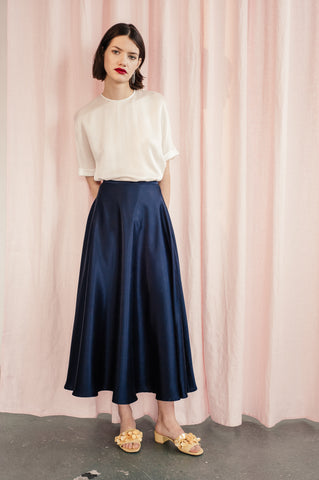 "Silk Skirt ""Helvi"""