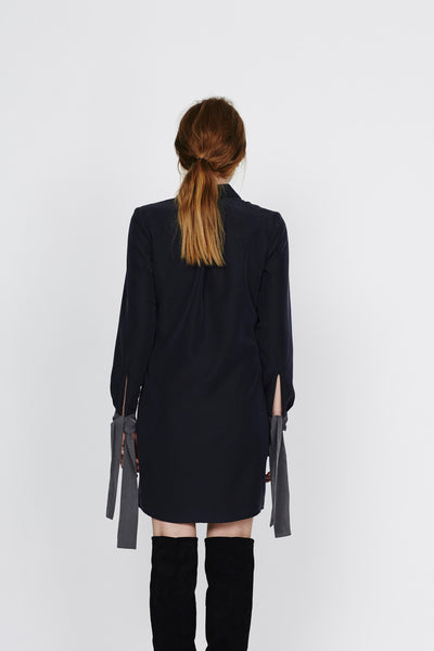 "Shirt dress with ribbons  ""Eileen"""