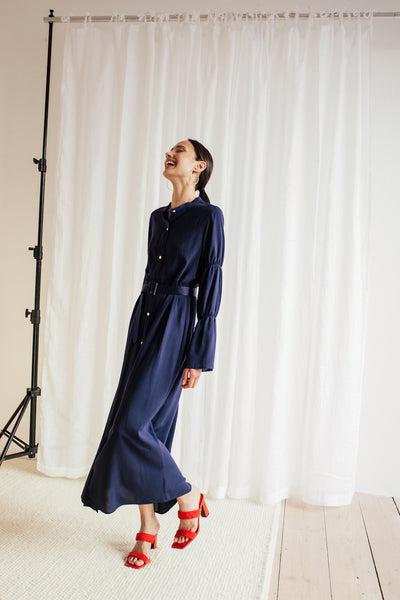 "Viscose shirt dress ""Kami"""