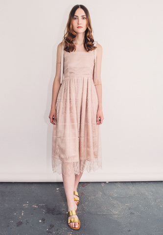 "Midi lace dress ""Francis"""