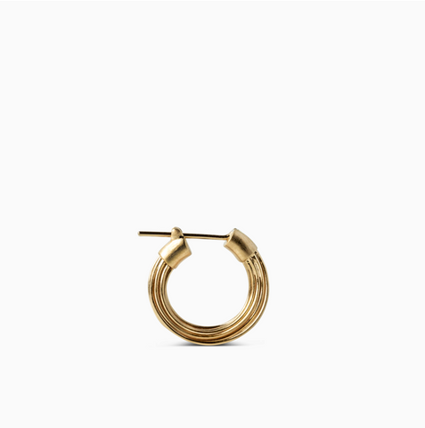 Wire Earring Gold