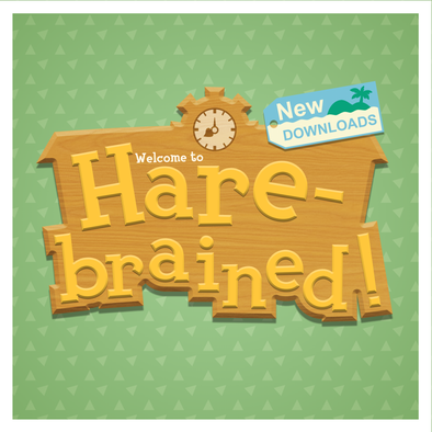 Animal Crossing New Horizons - Harebrained! QRs