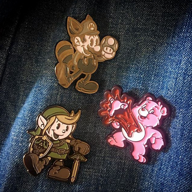 New Enamel Pins