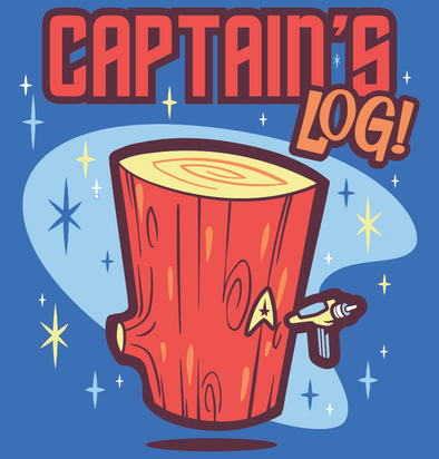Captain's Log Shirt