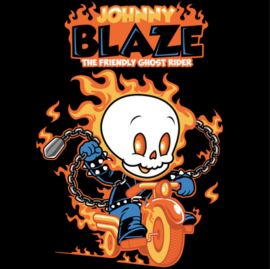 Johnny Blaze- The Friendly Ghost Rider