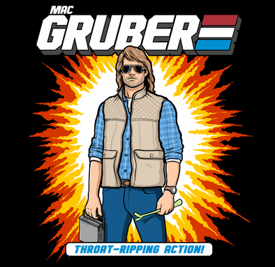 NEW SHIRT ALERT: MacGruber Action Figure