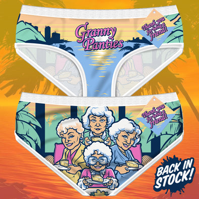 Granny Panties are back in stock!