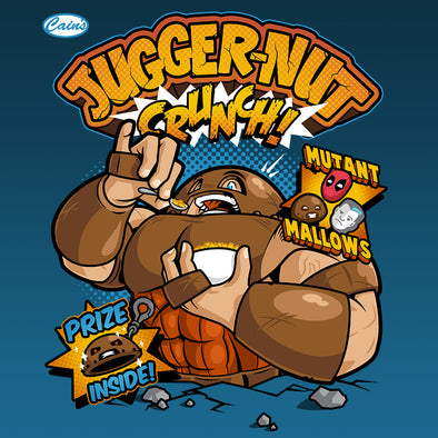 Jugger-Nut Crunch cereal design