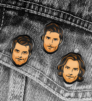Supernatural Hard Enamel Pins
