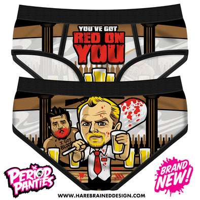 Red On You Period Panties