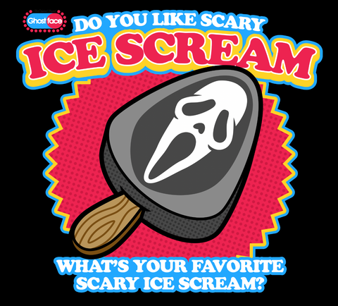 Ice Scream Ghostface popsicle shirt by harebrained