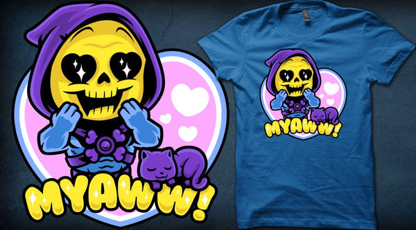 cute skeletor myaww