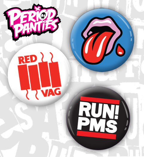 Period Panties Buttons