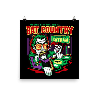 Harley's Bat Country Poster
