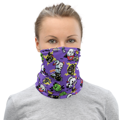 Who Ya Gonna Cowl Neck Gaiter